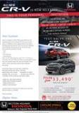 THE ALL NEW CR-V IS NOW RELEASED AT WESTERN HIGHWAY HONDA image