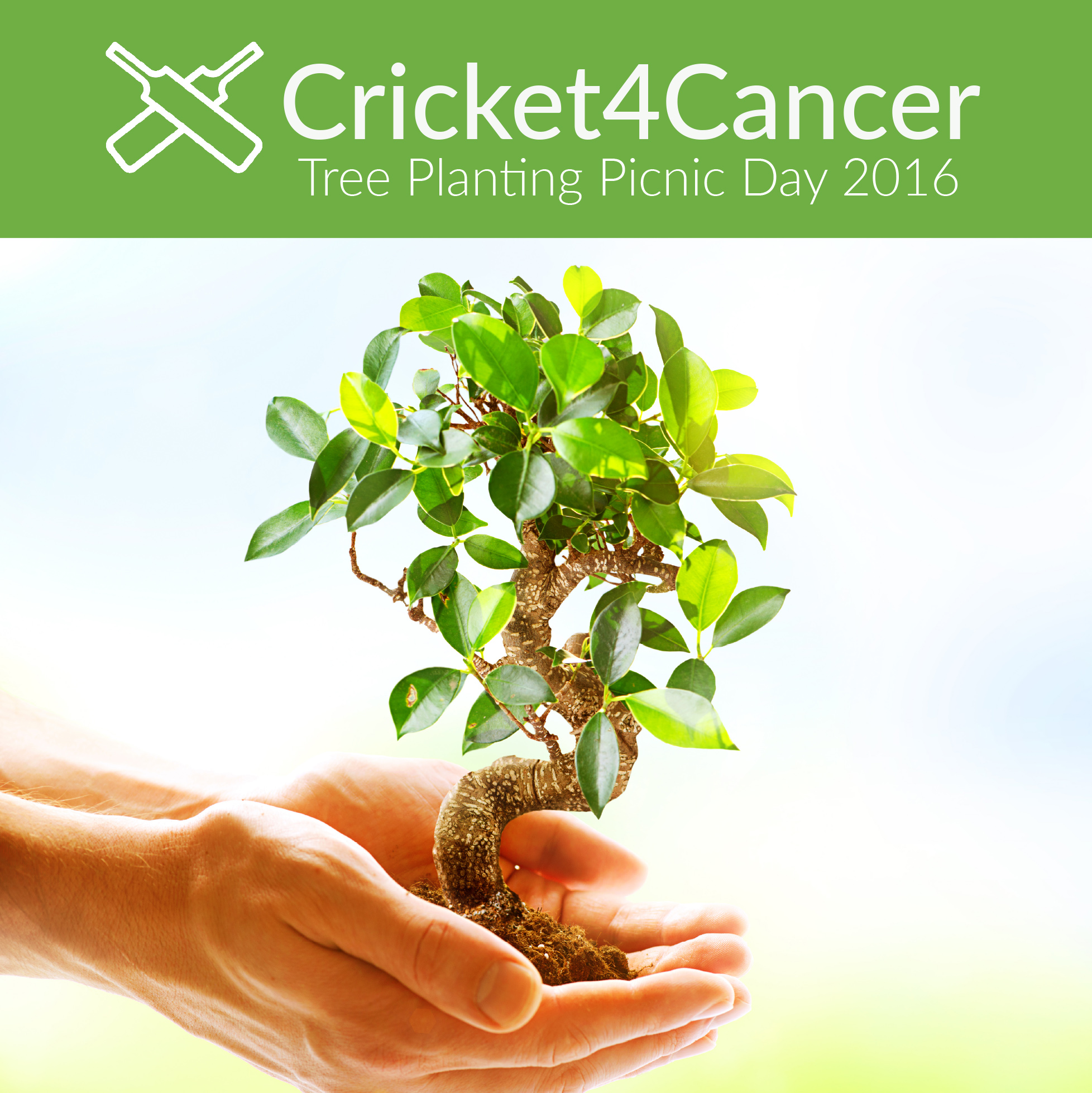 Cricket4Cancer tree planting