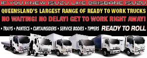 Brisbane Isuzu-Ready To Work Trucks Ready To Roll